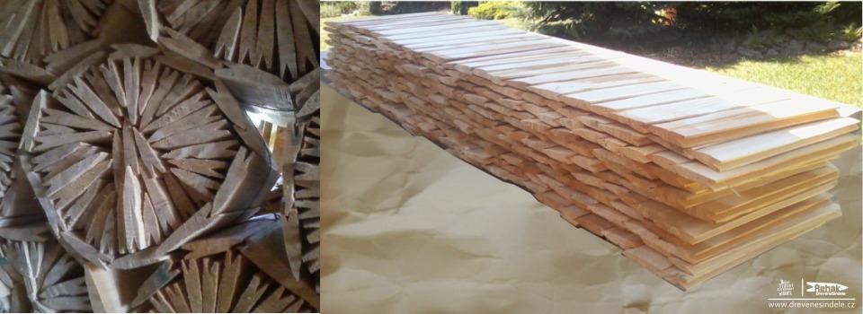 Jak vyrobit dřevěné šindele