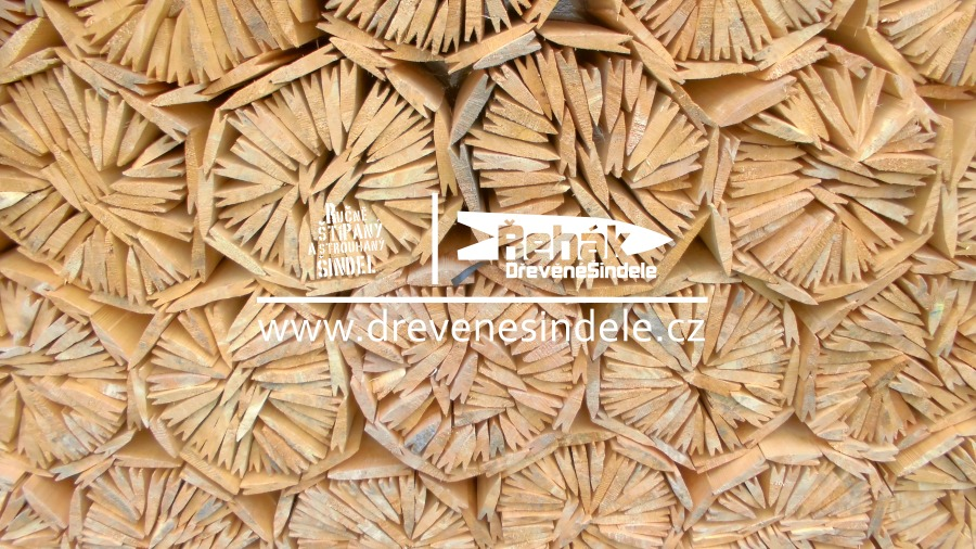 Dřevěné šindele prodej